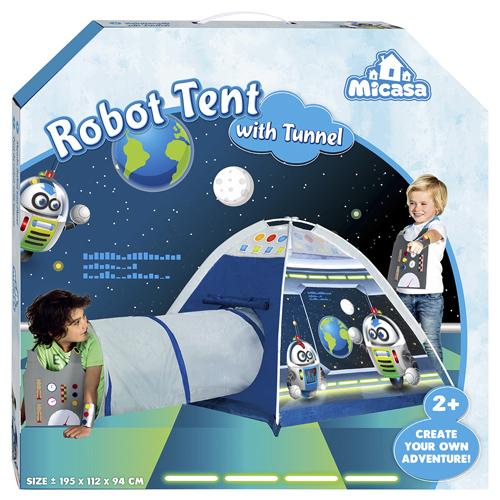 """404-18 Cort MICASA  """"Robot"""" cu tunel de la Five Stars"""
