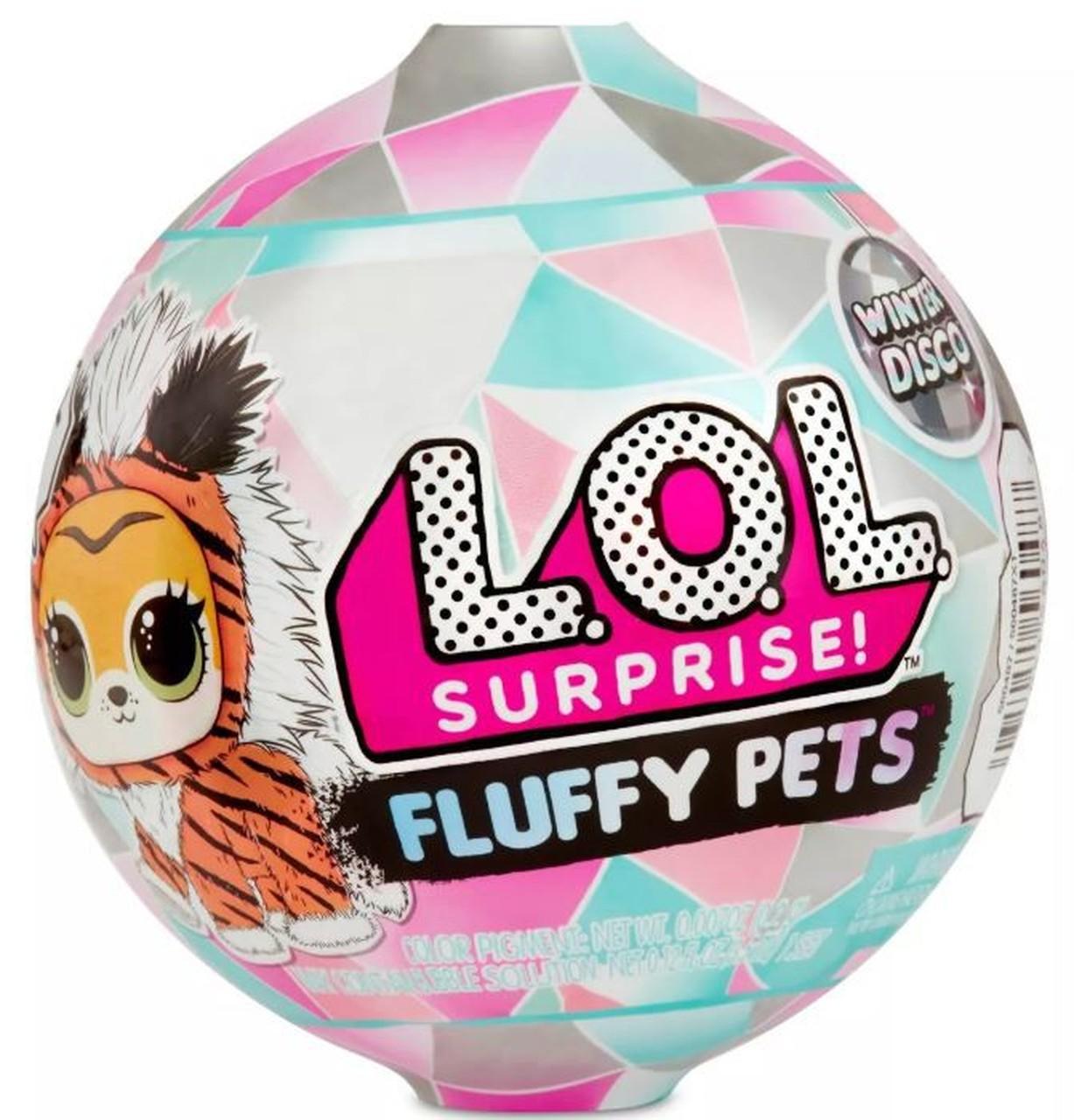 559719 Set animalut L.O.L. Surprise! Fluffy Pets Winter Disco