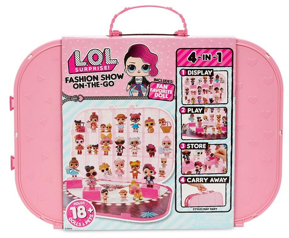 562696 Set L.O.L. SURPRISE! FASHION SHOW On-The-Go (roz pal)