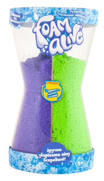 5904 Воздушная Пена Для Детского Творчества Foam Alive - Два В Одном