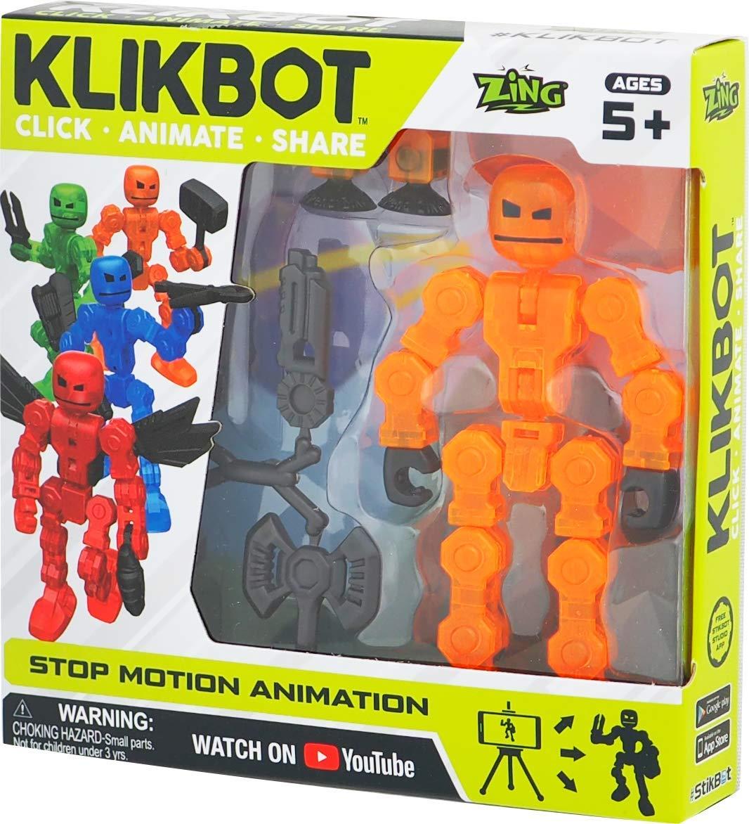 TST1600O Figurina Stikbot KLIKBOT S1 (oranj)