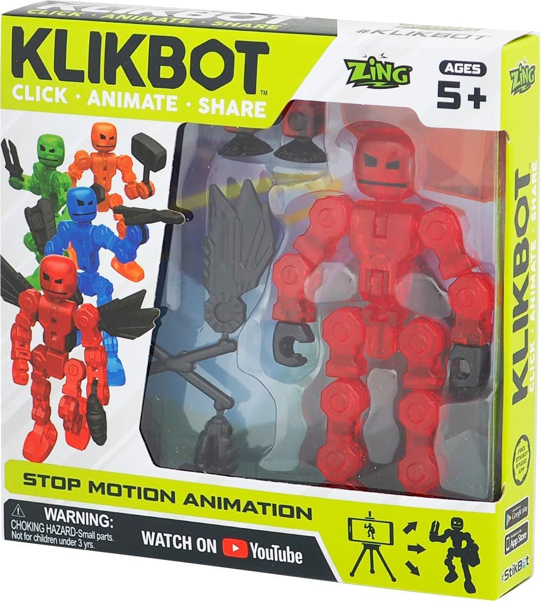 TST1600R Figurina Stikbot KLIKBOT S1 (rosu)