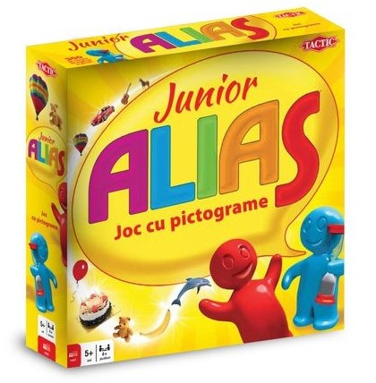 Alias Junior - joc de masa
