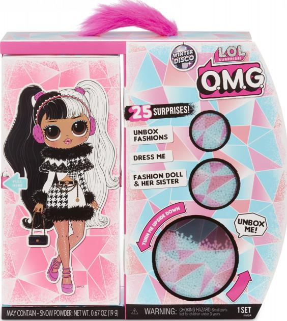 561798 Set papusi L.O.L. Surprise! OMG Winter Disco Dollie&Dollface