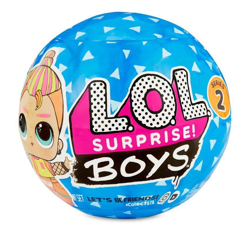 561699-W2 Set papusa baietel L.O.L Surprise!! S6 W2 - BOYS