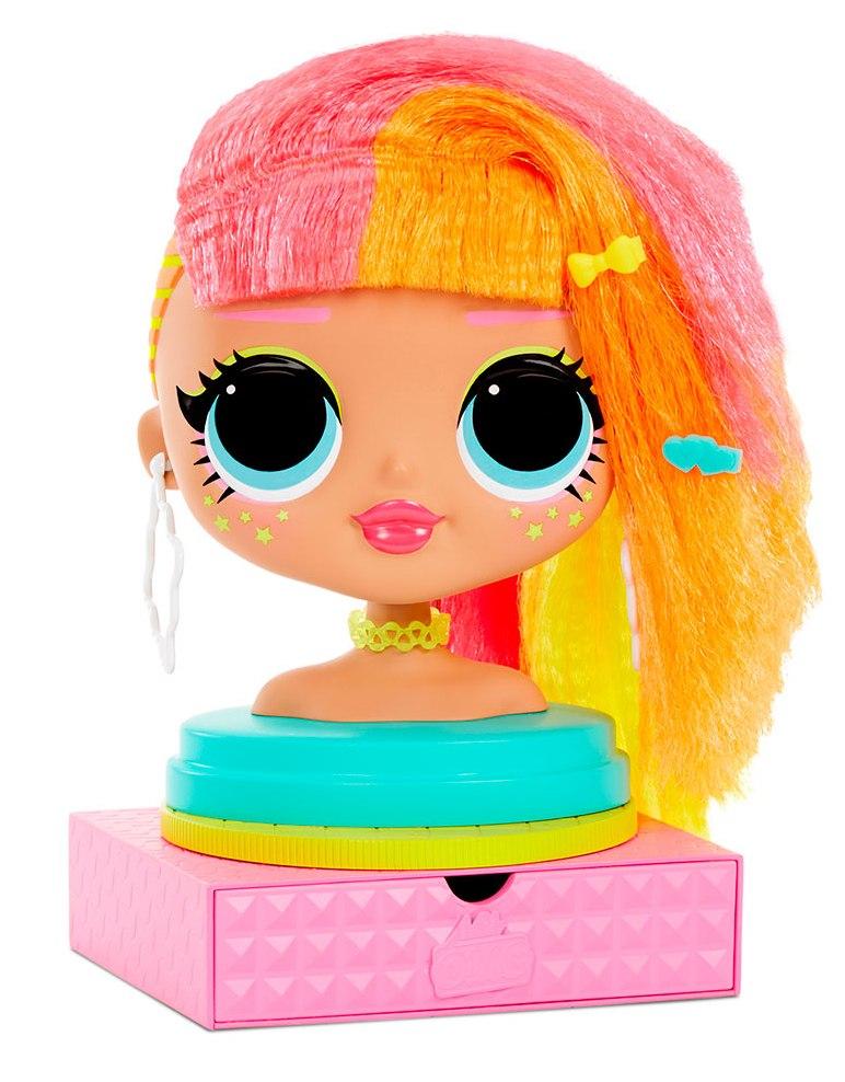 """565963 Кукла-манекен L.O.L SURPRISE! серии O.M.G."""" - ЛЕДИ НЕОН"""""""