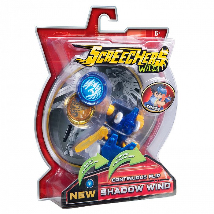 EU684101 Masina Transformer SCREECHERS WILD! S2 L1 - SHADOW WIND