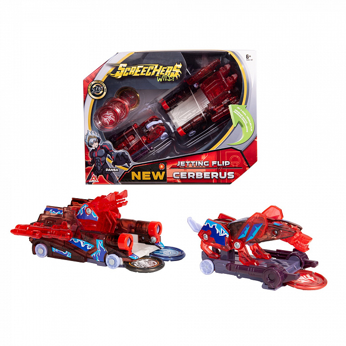 EU684302 Masina Transformer SCREECHERS WILD! S2 L2 - CERBERUS