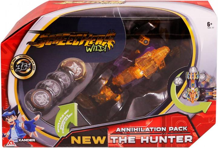 EU684501 Masina Transformer SCREECHERS WILD! S2 L3 - HUNTER