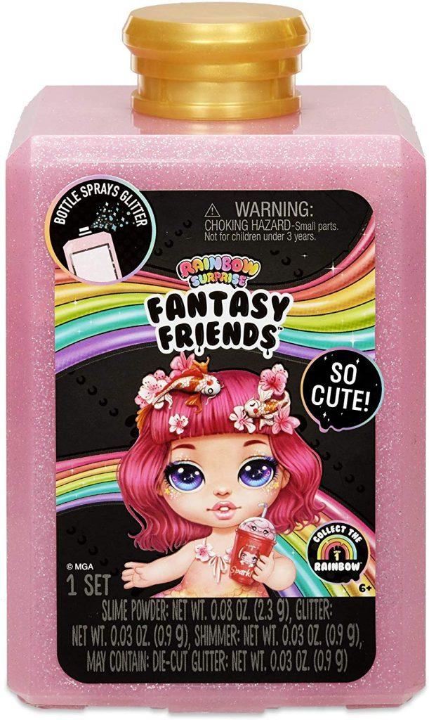 570349 Set papusa Fantasy Friends POOPSIE Rainbow Surprise (cu slime si accesorii)