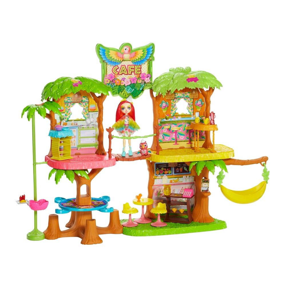 GNC57 Set Enchantimals Cafe Jungle