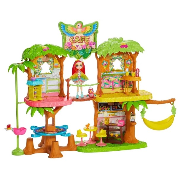 GFN59 Set Enchantimals Cafe Jungle