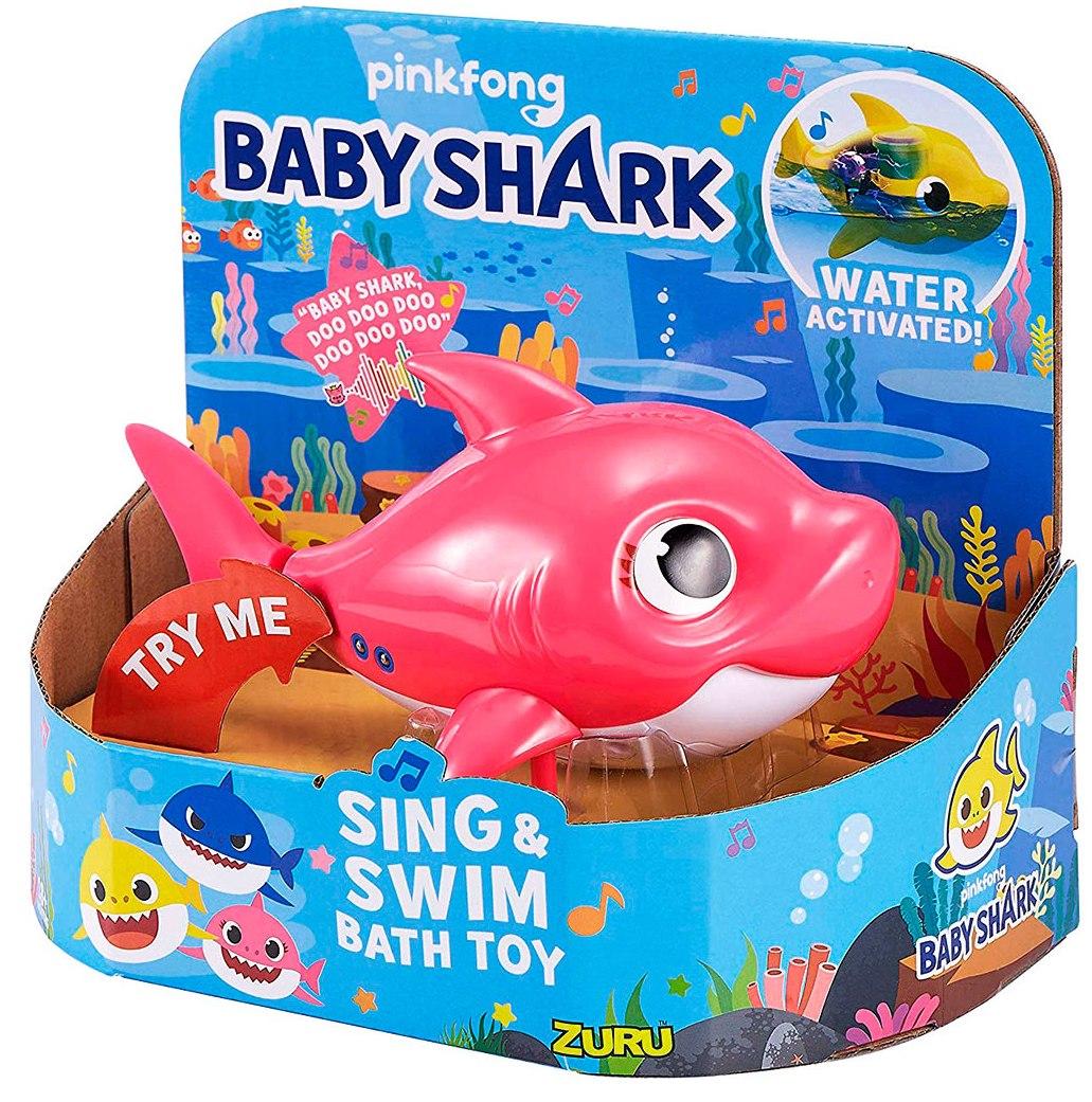 25282P Jucarie de baie interactiva ROBO ALIVE din seria Junior - MOMMY SHARK