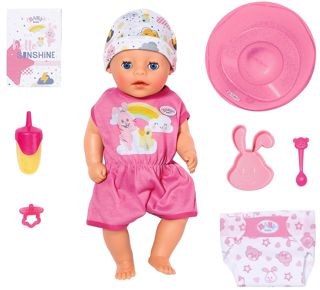 827321 Papusa bebelus Baby Born 36 cm seria Imbratisari blande cu accesorii