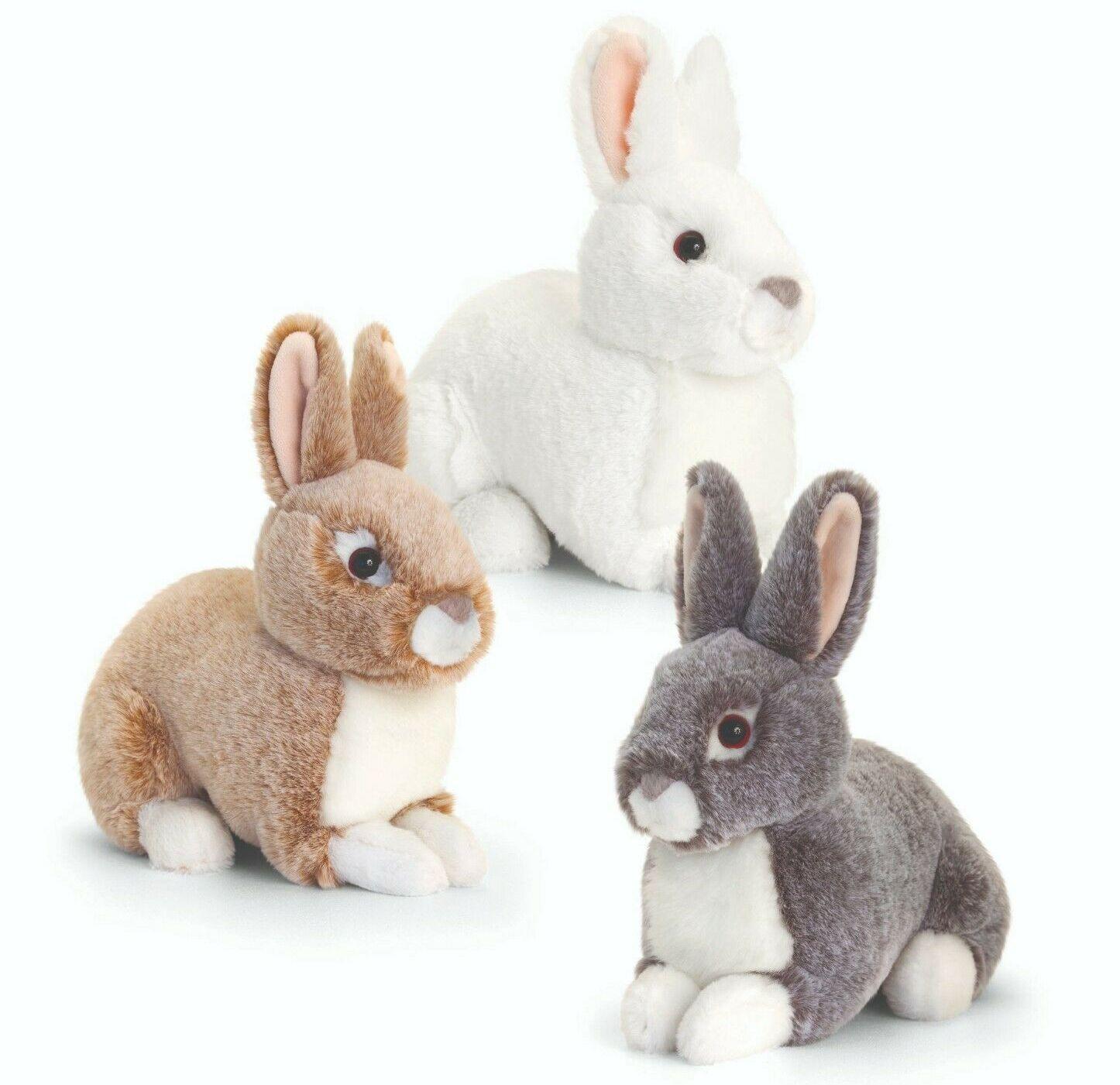 SR3339 Jucarie de plus Iepuras Sitting Rabbit 25cm 3 tipuri