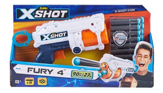 36377Z Blaster cu foc rapid X-Shot EXCEL FURY 4 (16 runde)