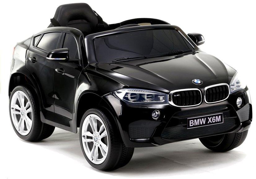 2075 Masina electrica BMW X6 culoare neagra cu 2 motoare