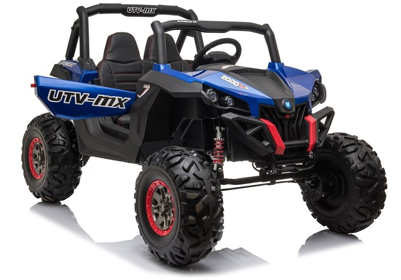 5967 Masina electrica Buggy XMX603 culoare albastra cu 2 locuri 4 motoare