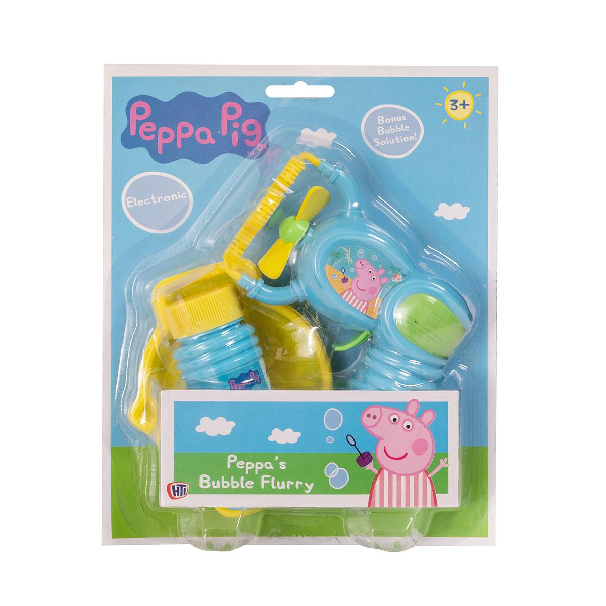 1384506.00 Set de joaca Pistol cu bule de sapun Peppa Pig
