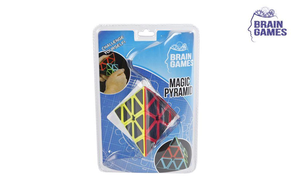 620831 Jucarie de logica piramida neagra Magic Pyramid 6,6cm