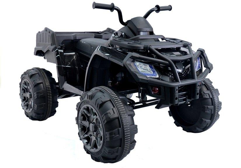 2501 Motocicleta electrica cu 4 roti BDM 0909 culoare neagra 24V