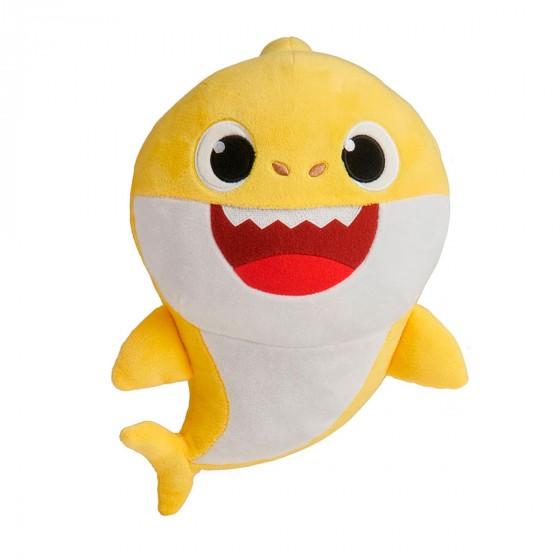 61031 Jucarie de plus muzicala Baby Shark Bebelusul Rechin 30cm