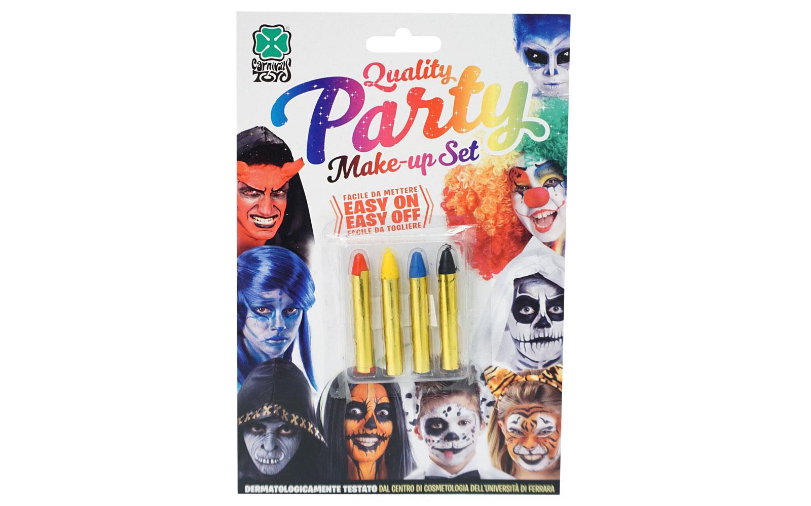 360683 Set creioane pentru pictura pe fata 4 culori 09444