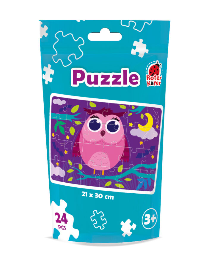 RK1130-02 Puzzle Owl 24 piese Roter Kafer