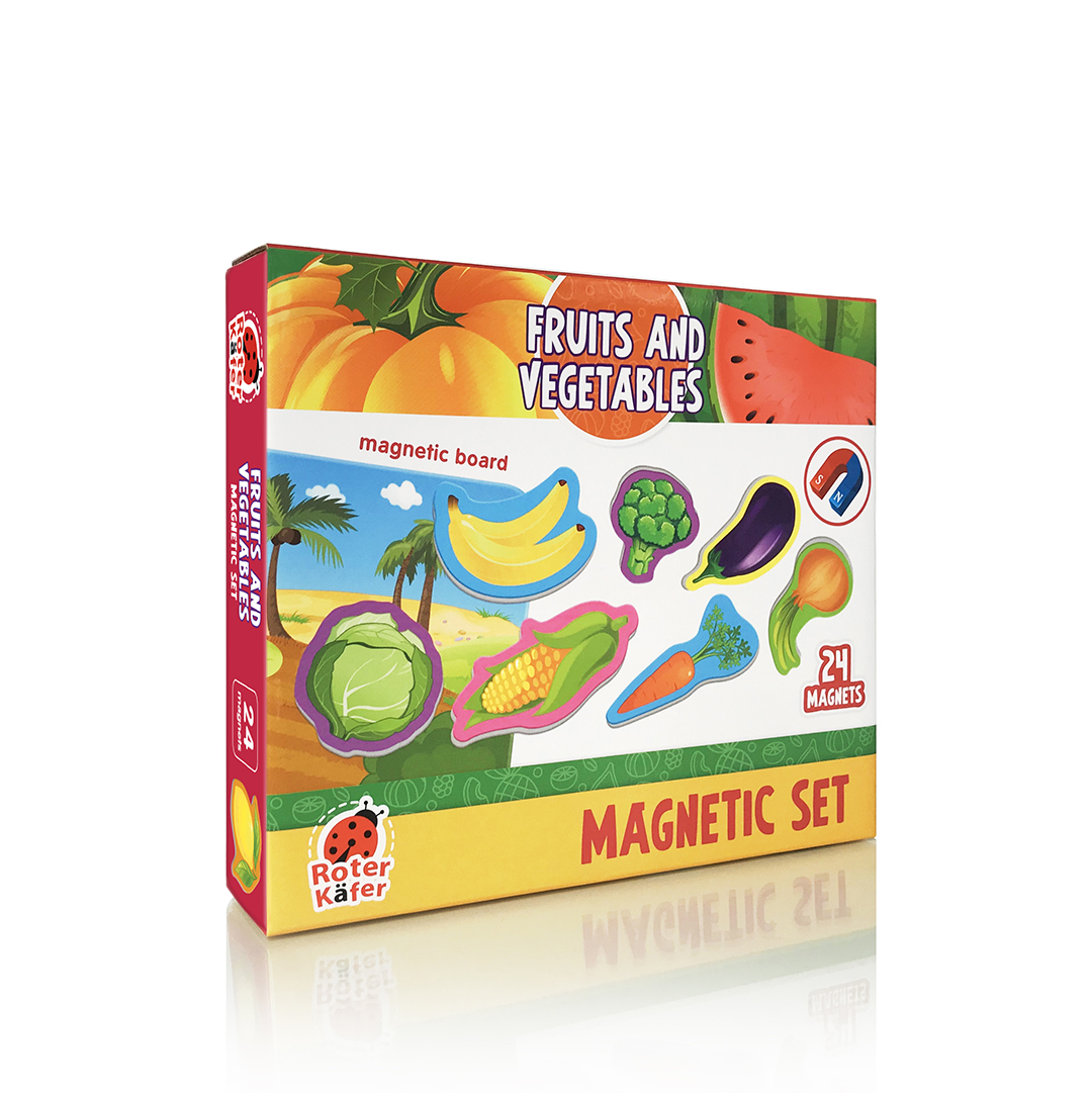 """RK2090-06 Joc magnetic """"Vegetables & fruits"""" Roter Kafer"""