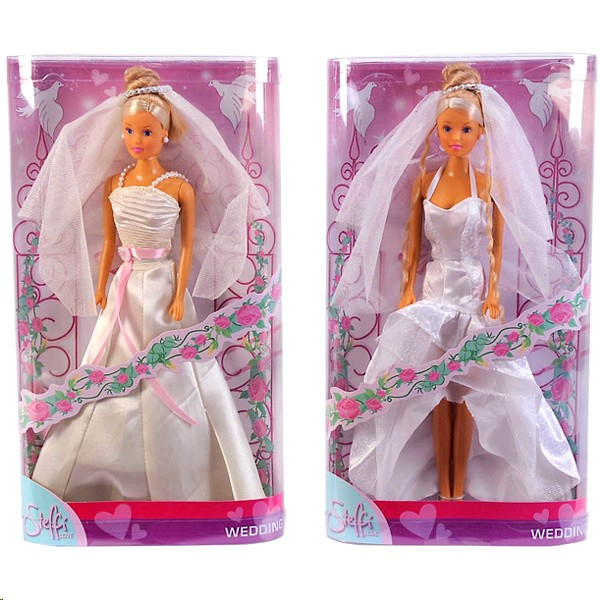 "3414 Simba кукла Steffi ""Wedding"""