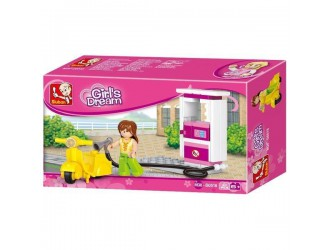 B0518 CONSTRUCTOR GIRL IS DREAM GAS STATION