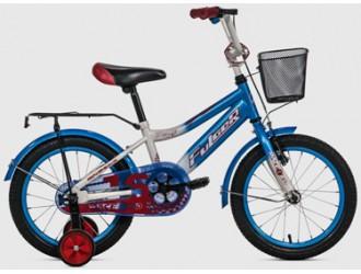 FKS16-S16RK-02 Bicicleta 16-Rase Kid fulger albastru-alb-rosu
