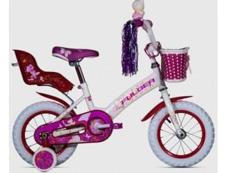 FKS17-S12FF-WM Bicicleta 12 -Totem Fairy (alb-rosu)