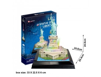 L505h 3D Puzzle Statue Of Liberty Led