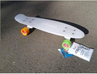 12134 Skateboard Retro Rainglow 22