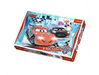 "16290Trefl Puzzle""100""Ice adventure / Disney Cars 2"