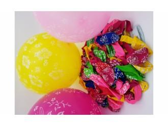 Baloane cu desen P2S 30cm 50 buc.