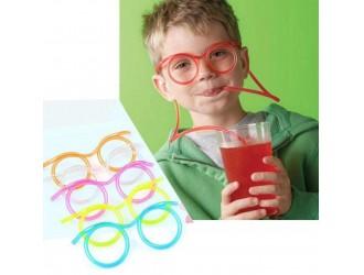 Pai de baut ochelari de culoare roz