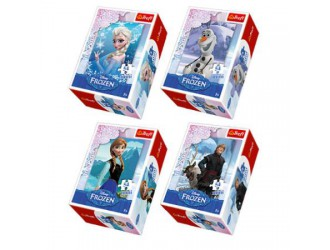 "54141 Trefl Puzzles - ""54 mini"" - Frozen / Disney Frozen"