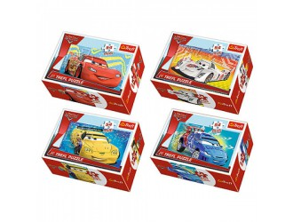 "54146 Trefl Puzzles-""54mini""-Before the race / Disney Cars2"