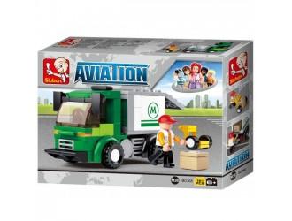 B0368 Constructor Aviation -Airport Security Van
