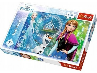 13207 Trefl Puzzle-''200''-Power of sisters /Disney Frozen