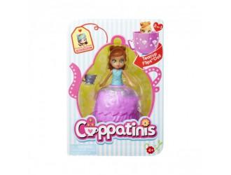 38774 Papusa CUPPATINIS S1 Caramela Machiato (10 cm cu accesorii)