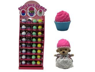 "1610033F Jucarie moale seria ""Cupcake Bears"" (96 modele)"