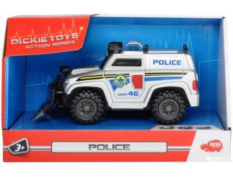"""330 2001 Дики автомобиль """"Полиция"""" звук и свет 15 см"""