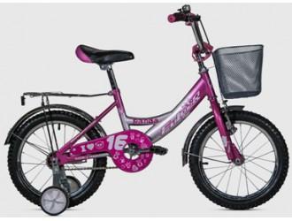 """FKS16-S16P-MS Bicicleta 16"""".. Panda fulger Roz"""