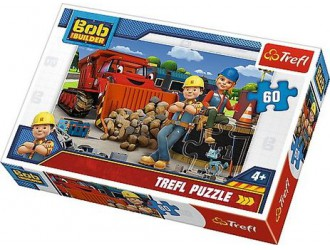 "17300 Trefl Puzzles ""30"" At The Gas Station/ cars"