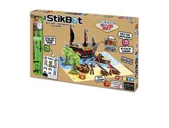 TST623P Set figurina STIKBOT S2 Pirat cu accesorii, abtibilduri