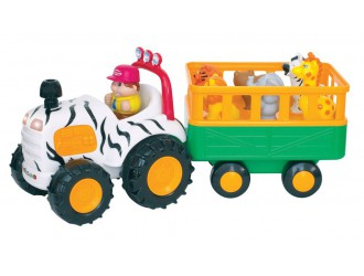 051169 Jucarie muzicala Tractor Safari (l.rusa)