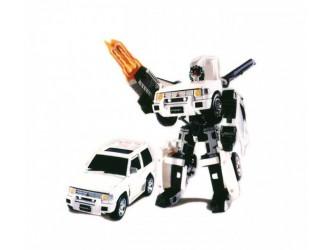 52020 r Робот-трансформер - MITSUBISHI PAJERO (1:32)
